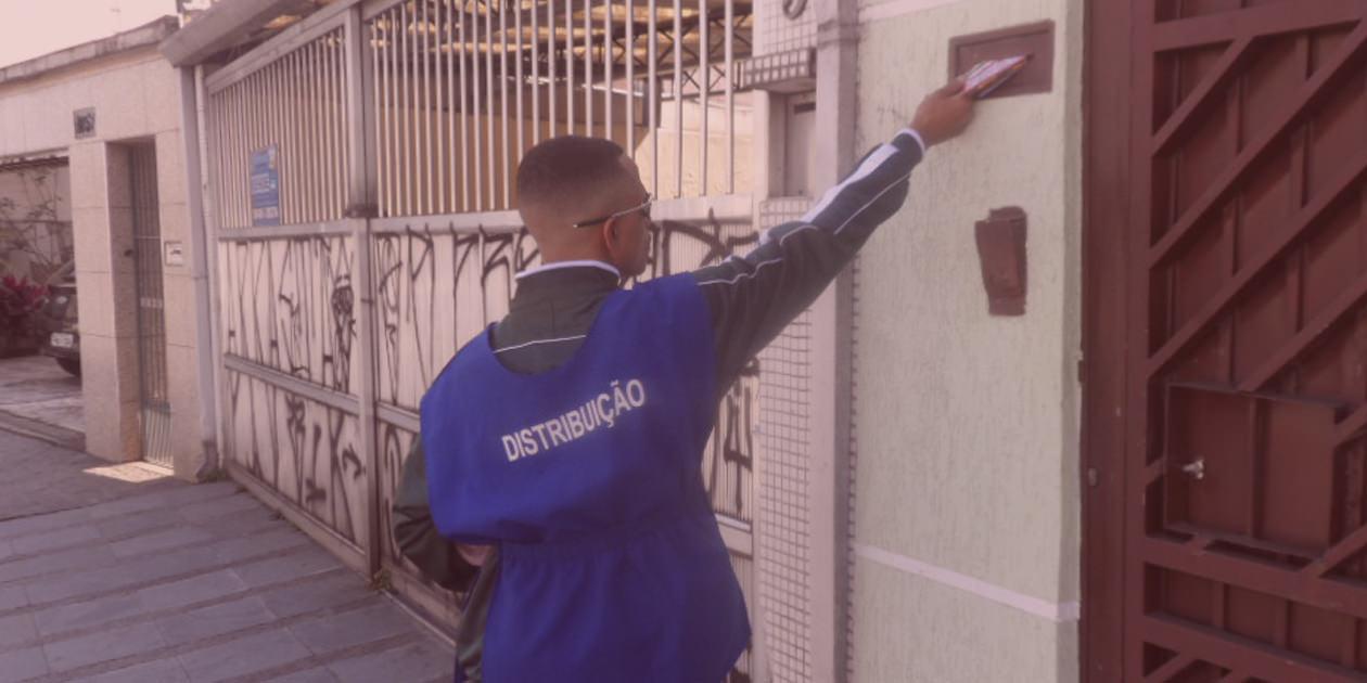 Distribuição porta a porta